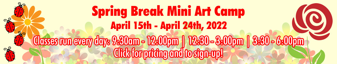 Spring Break Mini Art Camp